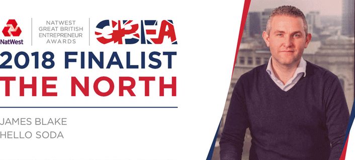 Hello Soda nominated for the GBEA Awards
