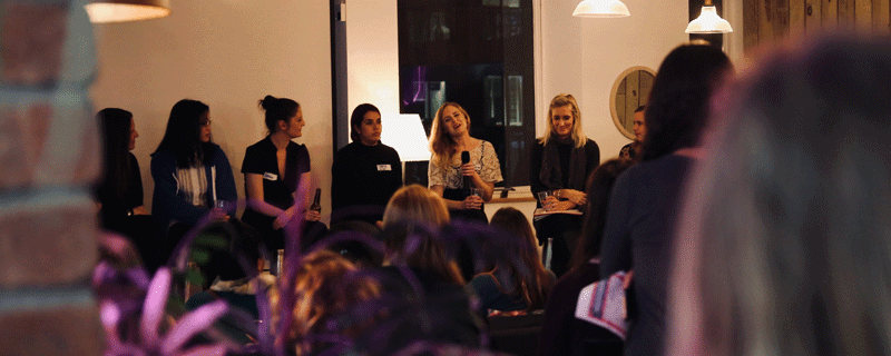 Hello Soda attend the Women in Tech event Manchester