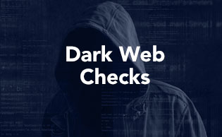 Dark web checks for Peps and Sanctions