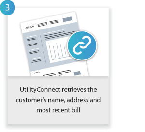 How UtilityConnect works - Step 3