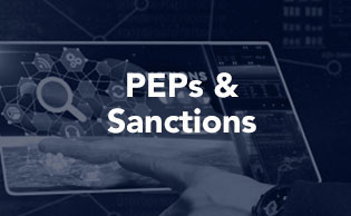 Global Peps and Sanctions checks