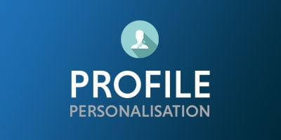 Profile Personalisation Product Sheet