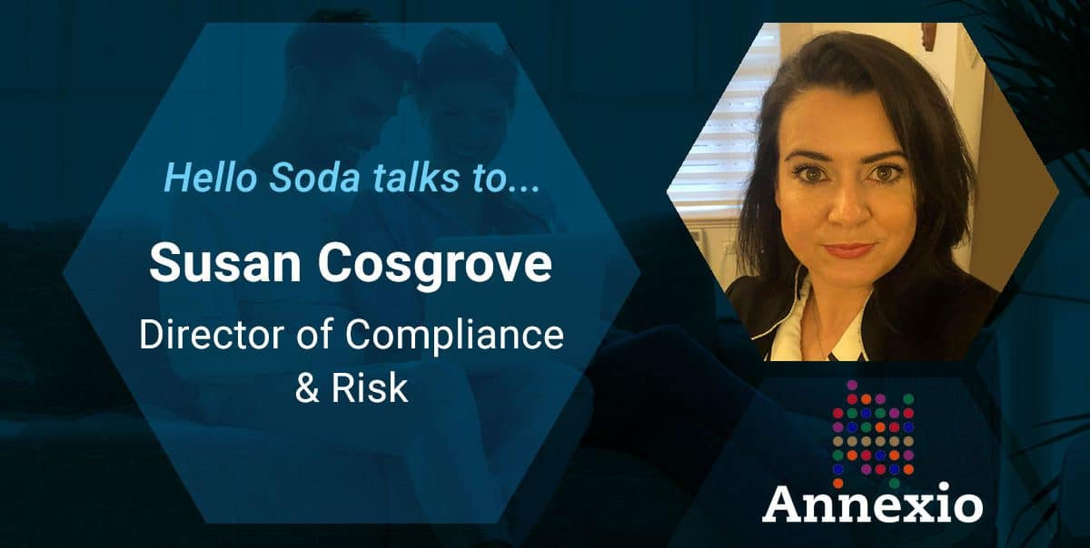 Hello Soda talks to Susan Cosgrove