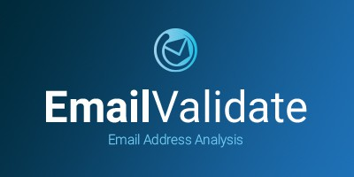 Email Validate Product Sheet