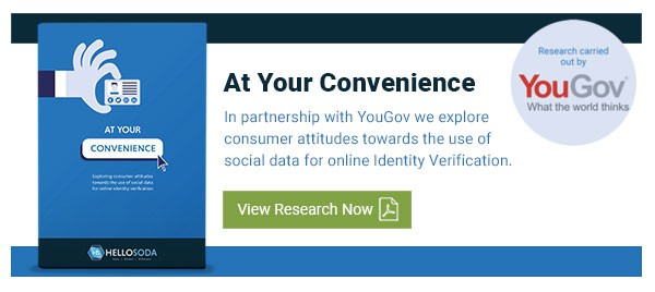 At Your Convenience, Social Data For ID Verification