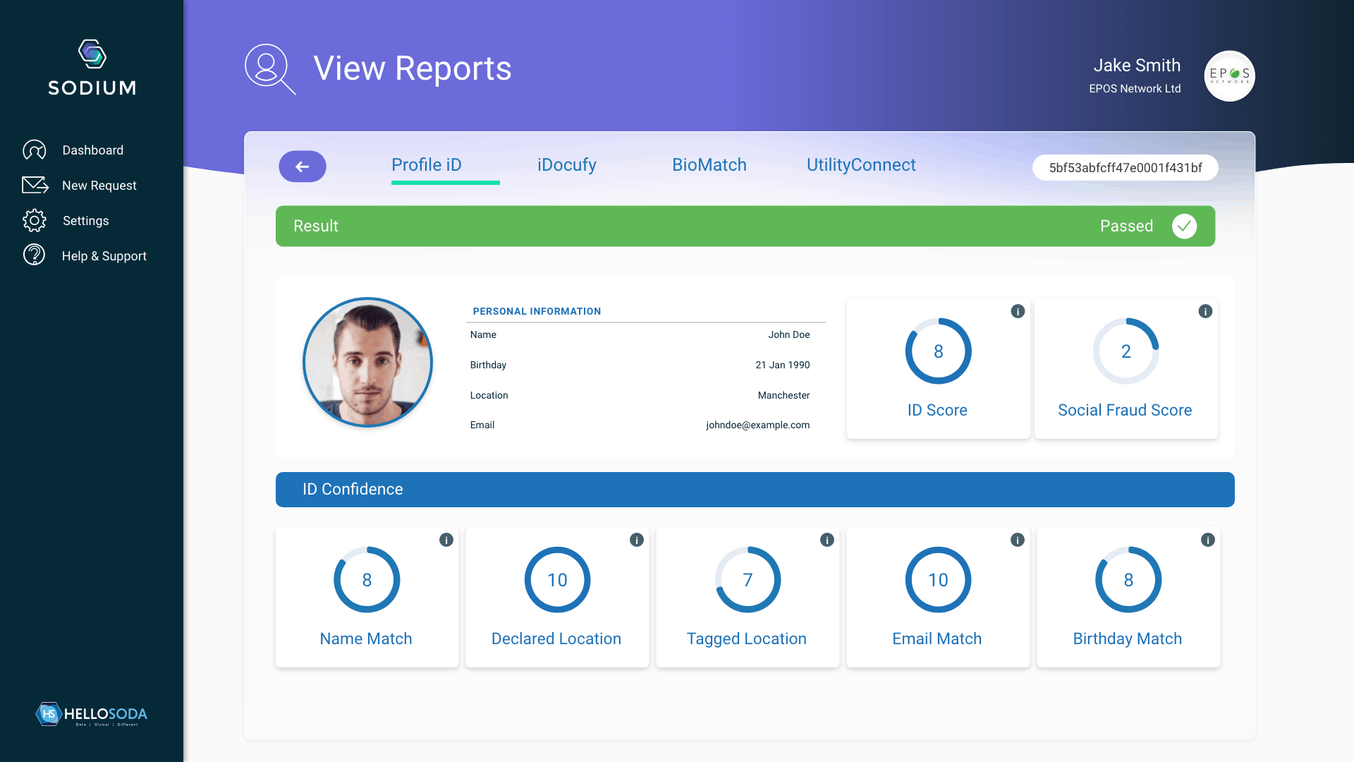 View Reports - Overview – 1
